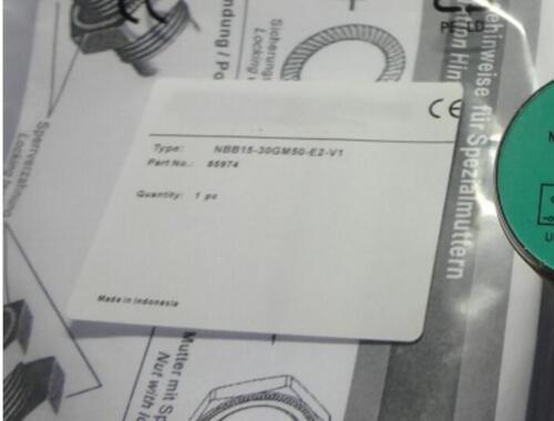 F proximity switches NBB15-30GM50-E2-V1-M NBB1530GM50E2V1M 1PC New P