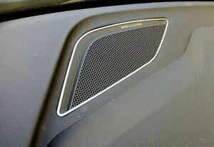Audi TT 8S FV TTS TT RS Roadster Hochtöner B&O Zierblende Dekoreinlage Alu