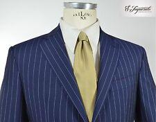 Abito uomo sartoriale primavera estate fresco lana blu S.Imparato cod. 642 tg 50