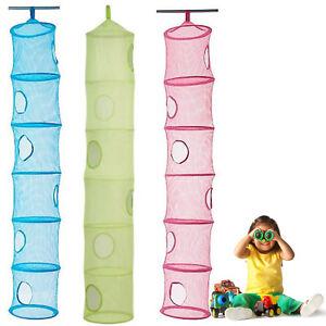 Nouveaux jouets rangement enfants ikea 6 compartiment - Filet de rangement suspendu ...