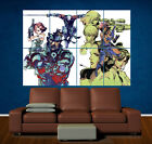 METAL GEAR SOLID - GIANT POSTER - ART PRINT LAMINATED - RETRO - MGS- SNAKE
