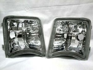 Front-Corner-Turn-Signal-Parking-Light-Lamps-One-Pair-Fit-2010-2011-Prius