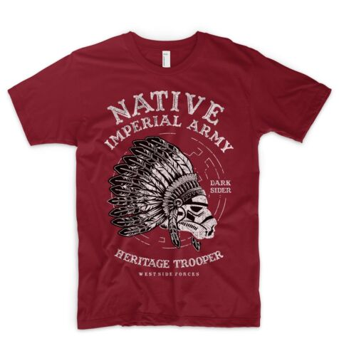 Star Wars T Shirt Native Imperial Trooper Darth Vader American Indian Movement