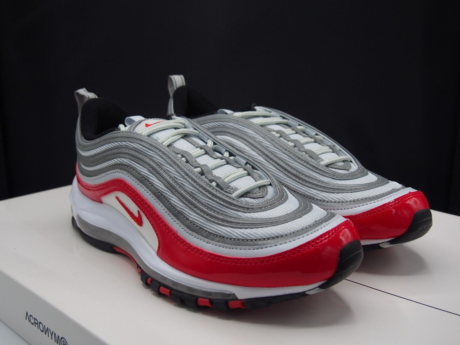 Nike Air Max 97 University Red Supreme 921826-009