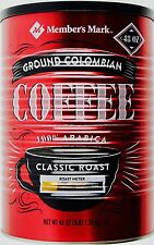Member's Mark Ground Coffee Colombian 100% Arabica Medium Roast