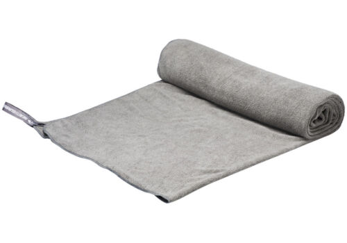 Sea to Summit Microfibre Tek Towel XL GREY with Stuff Sack /& Drying Loop