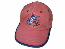 Polo Ralph Lauren Weathered Red Key West Marlin Sport Fishing Ball Cap Hat