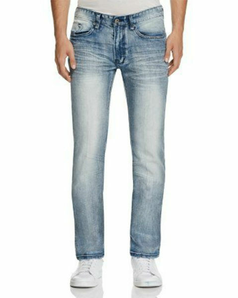 Buffalo Driven-x Basic Straight Jeans in bluee
