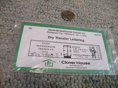 Clover House decals HO Dry trf  International Great Northern 34/' box car H210