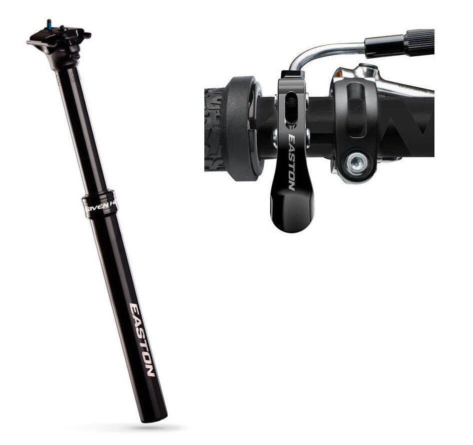 Easton Haven Dropper 125mm Adjustable MTB Seatpost Post with Remote 30.9 x 415mm