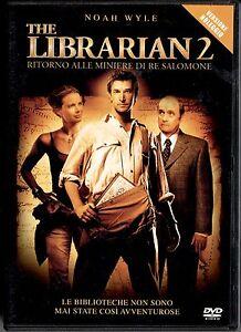 THE-LIBRARIAN-2-ritorno-alla-miniere-di-Re-Salomone-DVD-NUOVO-E-SIGILLATO