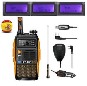 EU-Baofeng-GT-3-TP-Mark-III-Cabel-Mic-1-4-8W-Radio-Ham-Emisora-Transceptor