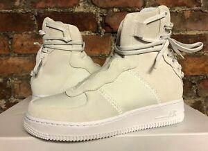Femme-Nike-AF1-Rebel-XX-Off-Blanc-Argent-UK6-US8-5-EUR40-AO1525-100-AIR-FORCE