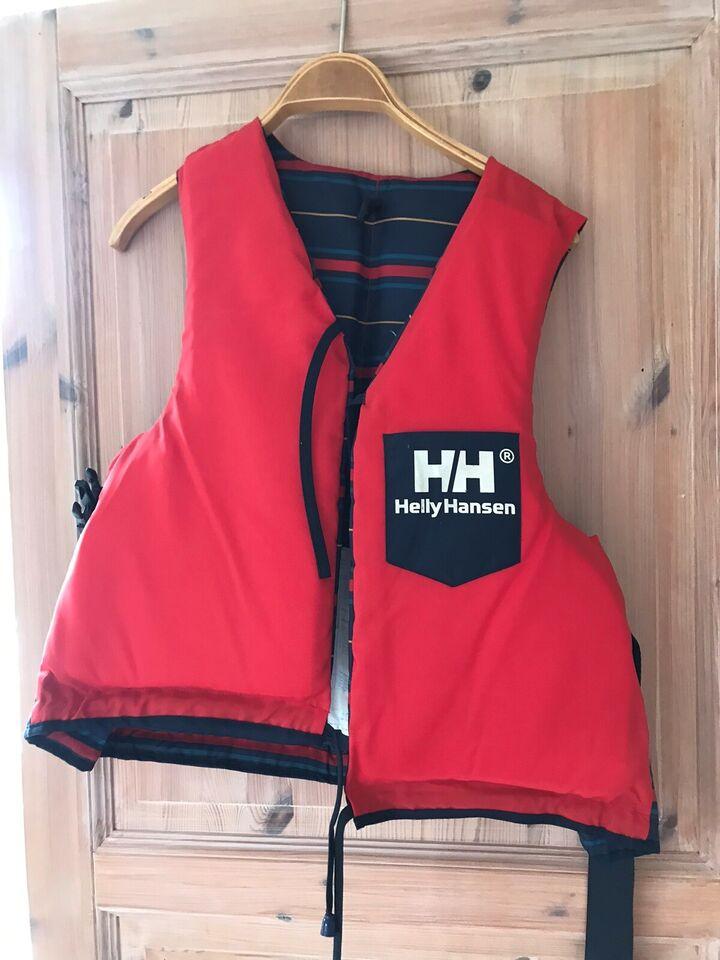 Redningsvest / life jacket, Helly Hansen, str. 90+