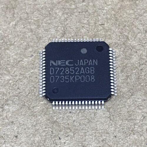 1PCS D72852AGB Encapsulation:QFP-64