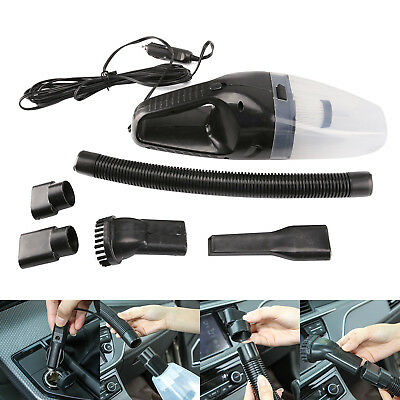 UK Car Vacuum 6 in 1 Auto Cleaner 12V 120W Handheld Vacuum Power Cord Hoover