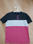 BRAND-NEW-Reph-FIRE-PIT-Tricolour-Striped-T-Shirt-SIZE-M thumbnail 3