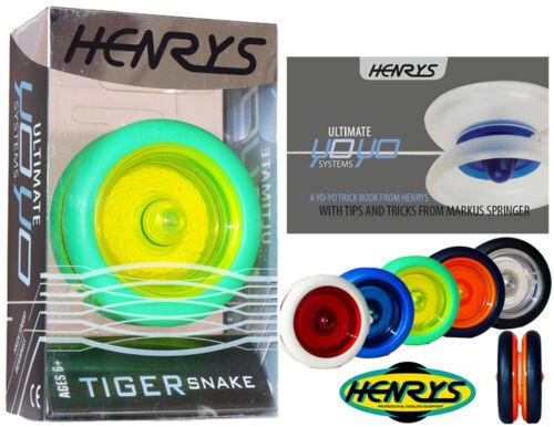 Henry/'s Pro Yo Yo Tiger Snake Professional String Trick Looping YoYo