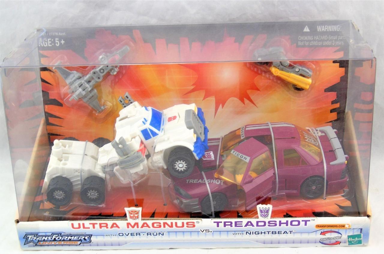Transformers Universe Ultra Magnus Vs Threadshot MISB