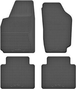 Fussmatten-fuer-Nissan-Navara-2-D22-1998-2005-Gummi-Gummimatten