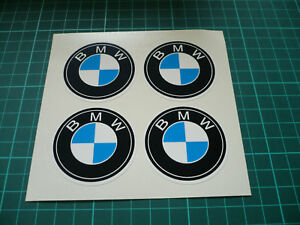 BMW Wheel Centre Stickers  - 65mm