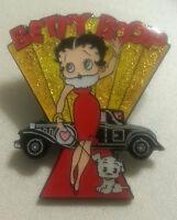 Betty Boop Red Carpet Glitter Lapel Pin