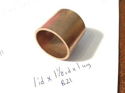 Oilite Flange Bushing Bronze 3//8 id x 1//2 odx1//4 Brass Bush Shim Spacer Bearing
