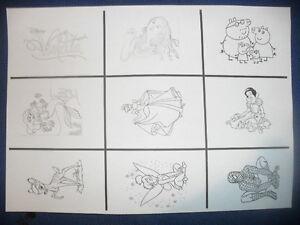 Disegno Bagno Da Colorare : Calamite miste disegno da colorare biancaneve peppa pig trilly