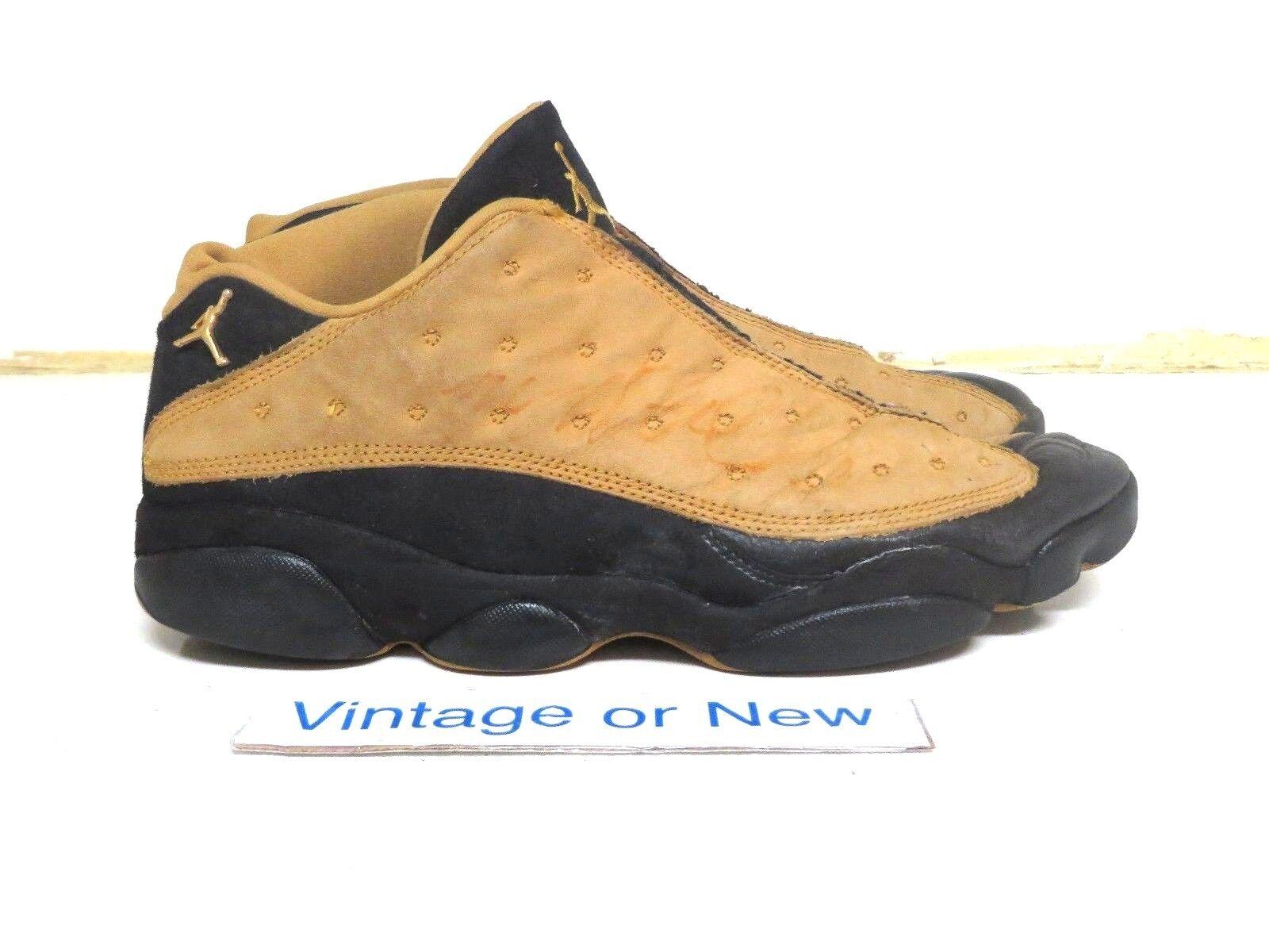 purchase cheap 16122 08384 OG Air Jordan XIII 13 Low Black Chutney 1998 1998 1998 sz 12 927c84