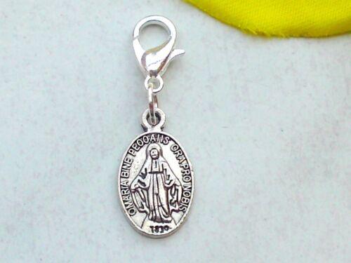 Charms Anhänger SCHUTZENGEL Charm Medaille Heilige Maria Padre Pio Armband Kette