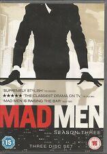 Mad Men Season 3 DVD FREE SHIPPING