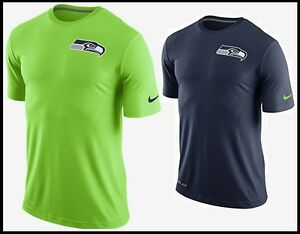 NWT Men s M Nike STADIUM TOUCH NFL DRI-FIT Seattle Seahawks Practice ... df8ec53cf