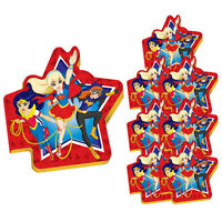 Dc Super Hero Girls Mini Notepads (8) Birthday Party Supplies Favors Notebooks