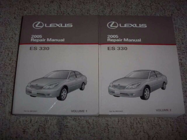2005 lexus es330 service manual