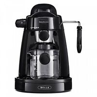 Bella Steam Espresso Black Espresso Machines & Coffee Makers on Sale