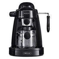 Bella Steam Espresso Black Espresso Machines & Coffee Makers on Sale