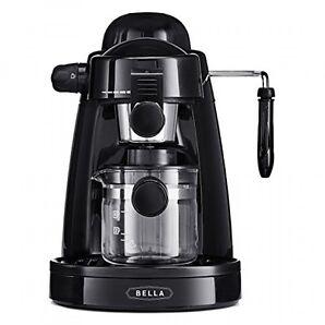 Bella Steam Espresso Black