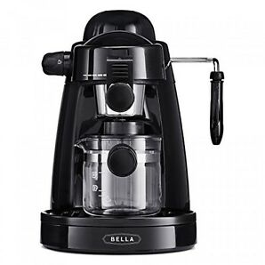 Bella Steam Espresso Black