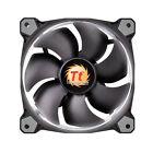 Thermaltake 140mm Riing 14 White LED 1400rpm Radiator PC Case Fan Low Noise