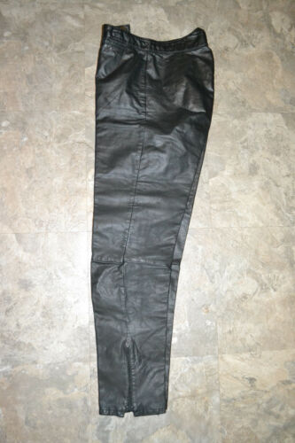 da pelle Sz J vintage in donna Park Collection Pantaloni 7 Junior fAnxqEww