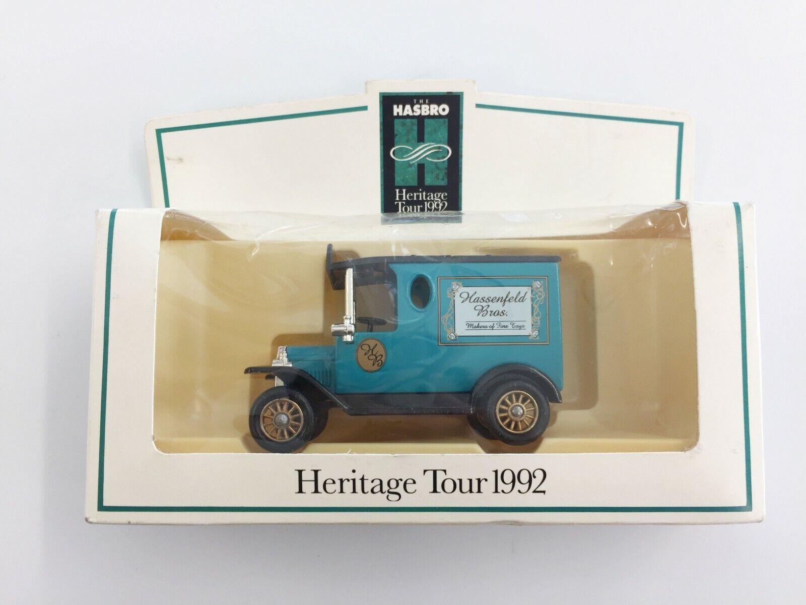 Lledo Hassenfeld Bros Hasbro Heritage Tour 1992 Promo Ford Model T Van