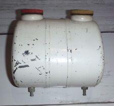 vintage Mini Bike Go Kart Dual Chamber Fuel / Oil Gas Tank never used