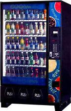 1DIXIE NARCO 5591 BEV MAX SODA POP, MONSTER, WATER, COKE, DRINK VENDING MACHINE
