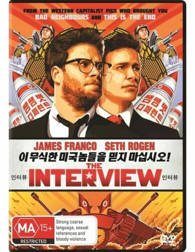 1 of 1 - The Interview (Dvd) Comedy, James Franco, Seth Rogen, Randall Park