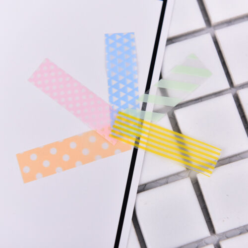 Stick Markers Book Page Index Flag Sticky Notes Office School Supplies DSUK