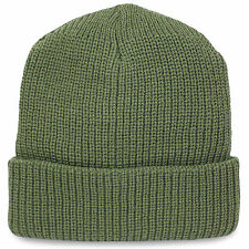 Commando Military Army Tactical Acrylic Winter Warm Beanie Hat Watch Cap Green