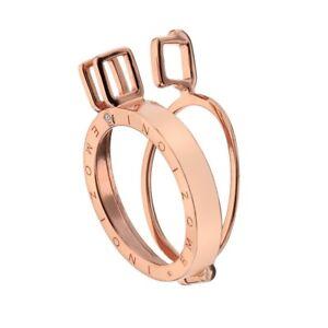 Emozioni-Hot-Diamond-Sterling-Silver-Rose-Gold-Plate-Coin-Keeper-25mm-EK003