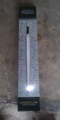 "45"" Game Of Thrones Officially Licensed Long Claw Jon Snow Foam Sword Hbo Box Sophisticated Technologies"