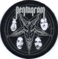 PENTAGRAM (USA) - Baphomet Logo - Woven Patch / Aufnäher