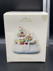 Hallmark-Keepsake-Home-for-Christmas-2008-Ornament-Magic-Light-Sound-Motion